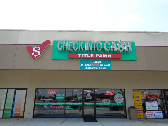 Check Into Cash Title Pawn image 0