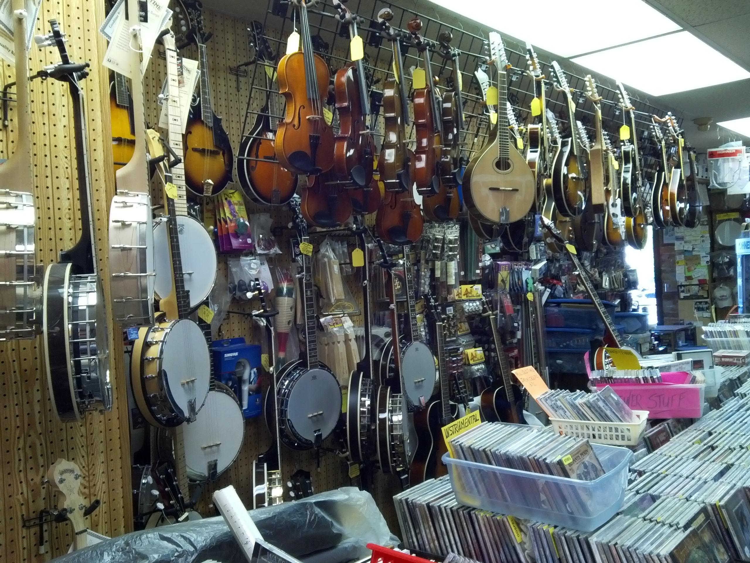mandolin shop