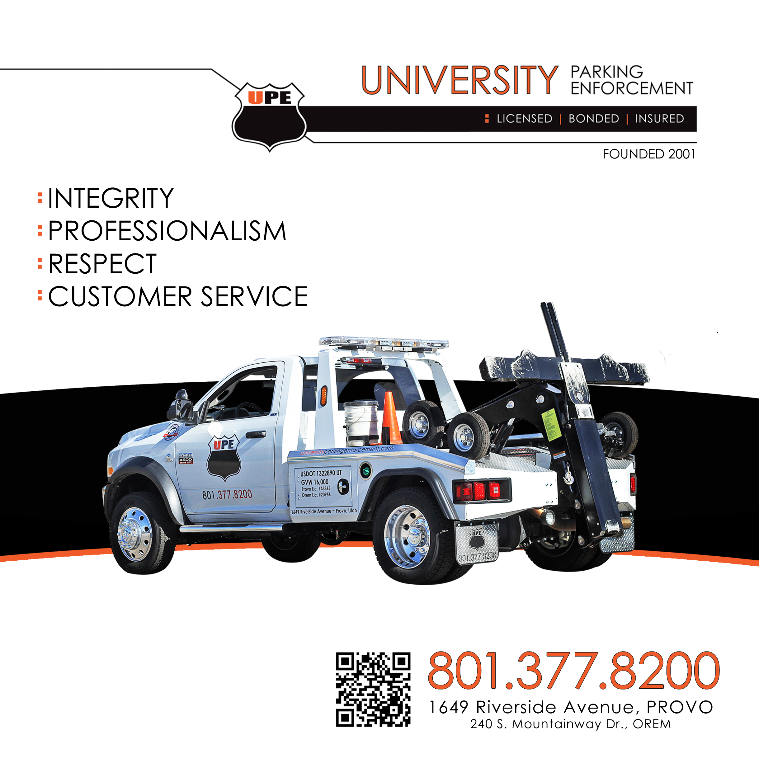 University Parking Enforcement - ad image