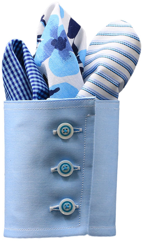 Take advantage of our easy 4-STEP process of simply selecting a fabric, neck and sleeve size, fit and tail length.