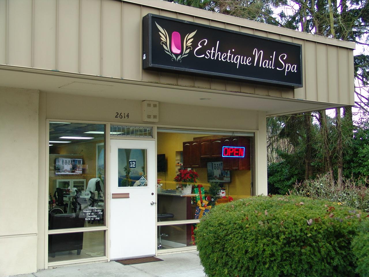 Esthetique nail spa in bellevue wa 425 454 5558 for 7 salon bellevue