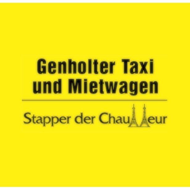 Logo von Udo Stapper Genholter Taxi Mietwagen