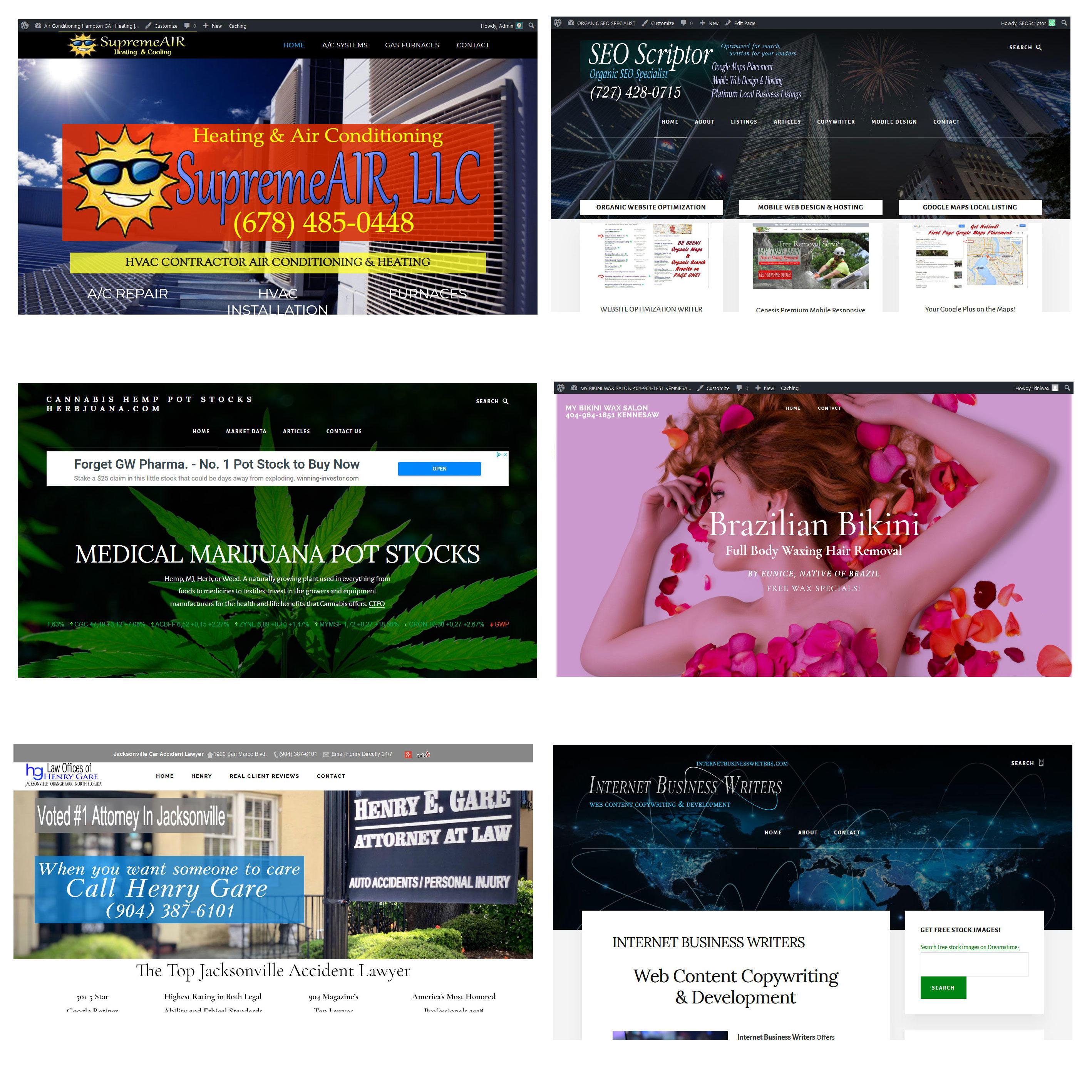 Portfolio of Designs
