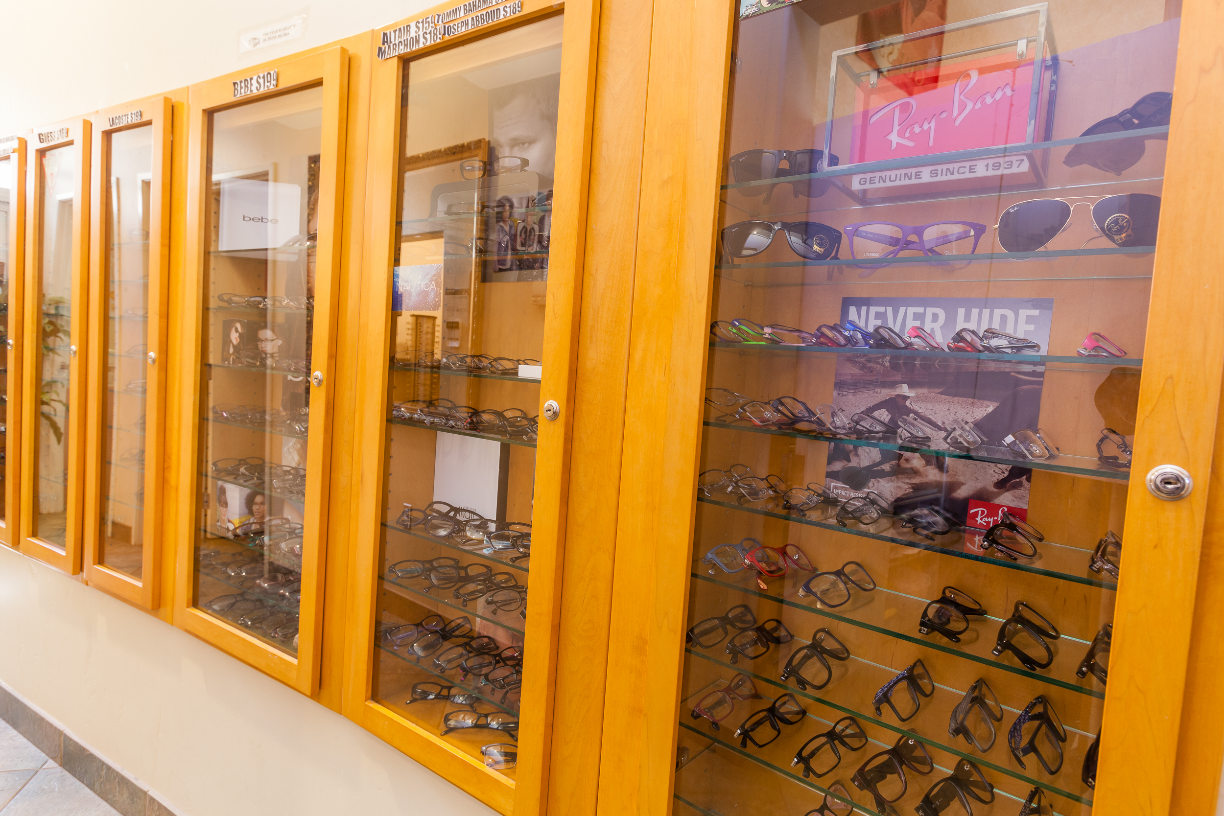 San Diego Vision Care Optometry offers a variety of glasses for adults and children from top brands.