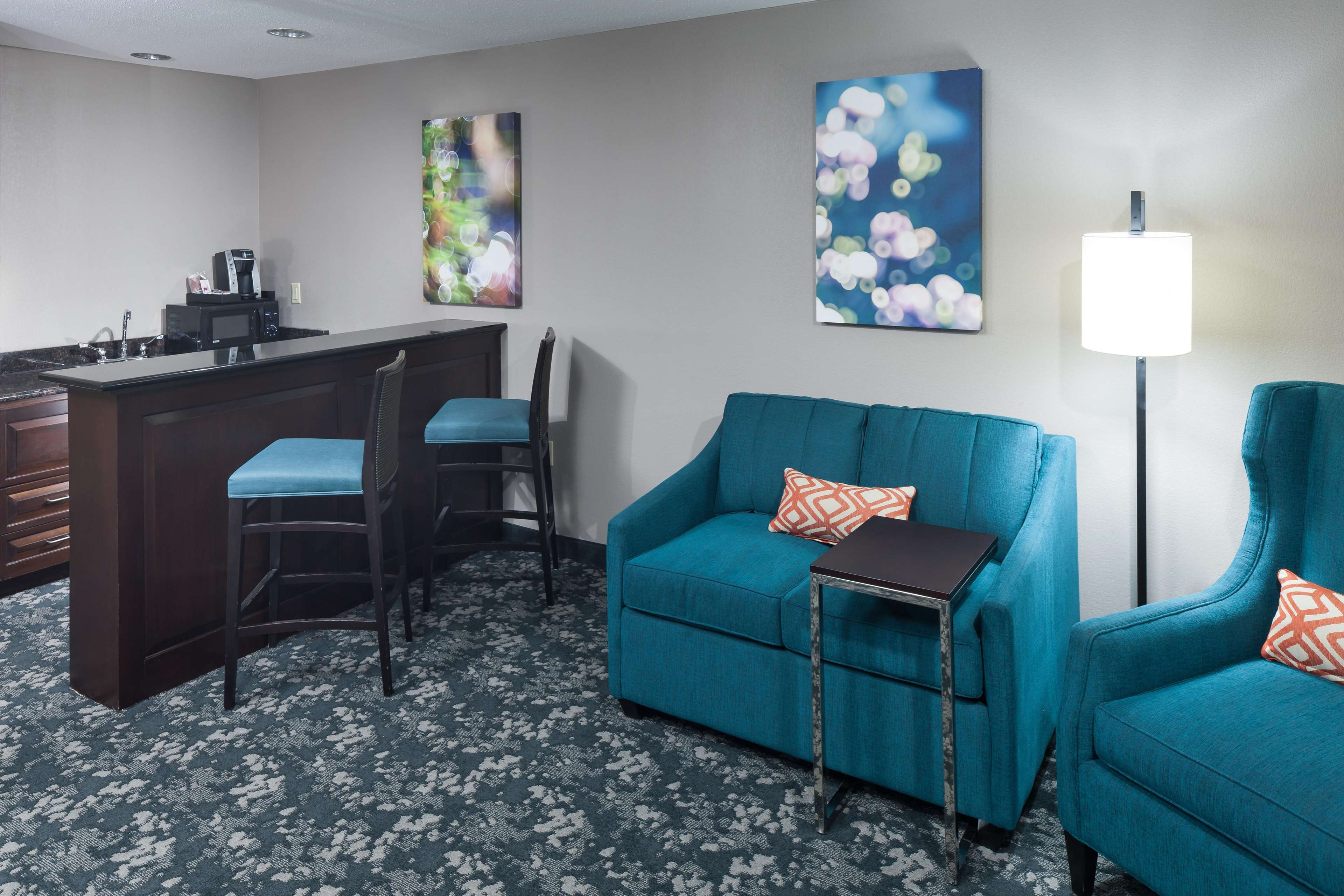 King Whirlpool Accessible Suite - Living Area