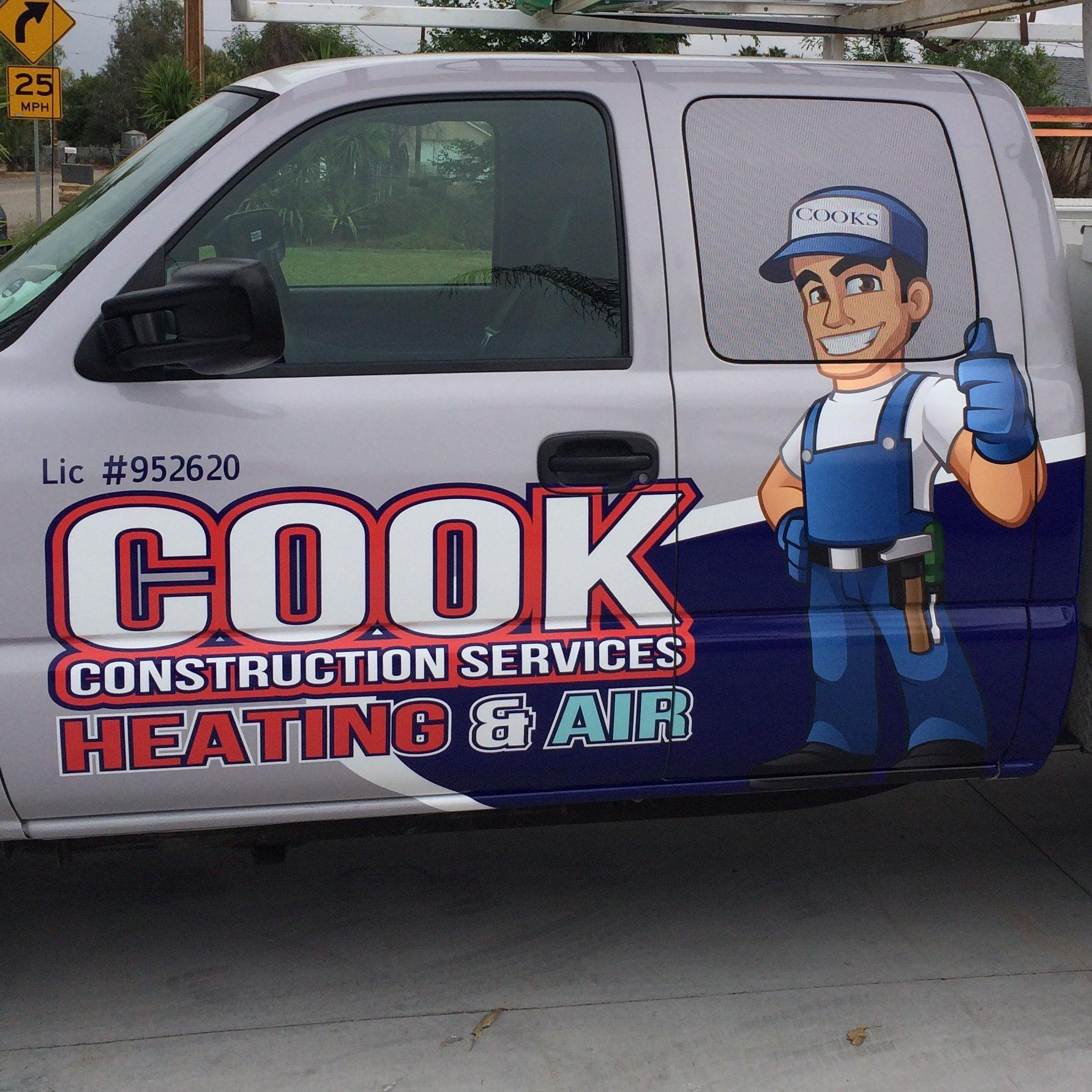 Cook Construction Services Heating and Air Conditioning