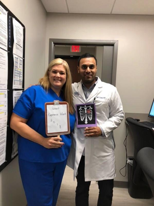 Florida Orthopaedic Institute Spine Surgeon, Dr. Samad, Celebrating Patient Experience Week