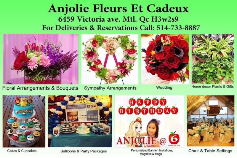 Anjolie Fleurs Et Cadeaux