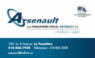 Les Évaluations Pascal Arsenault à La Pocatière