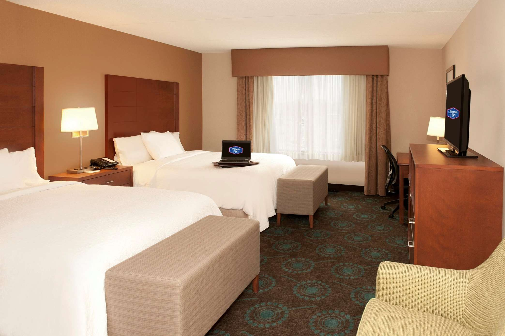 Hampton Inn by Hilton Brampton Toronto à Brampton: Standard Room with 2 Beds