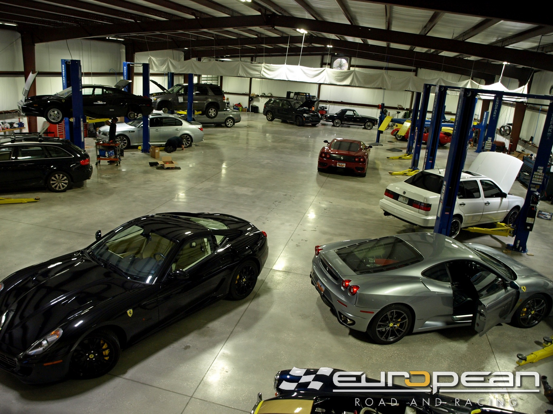 European Road & Racing | Charleston Luxury Car Service