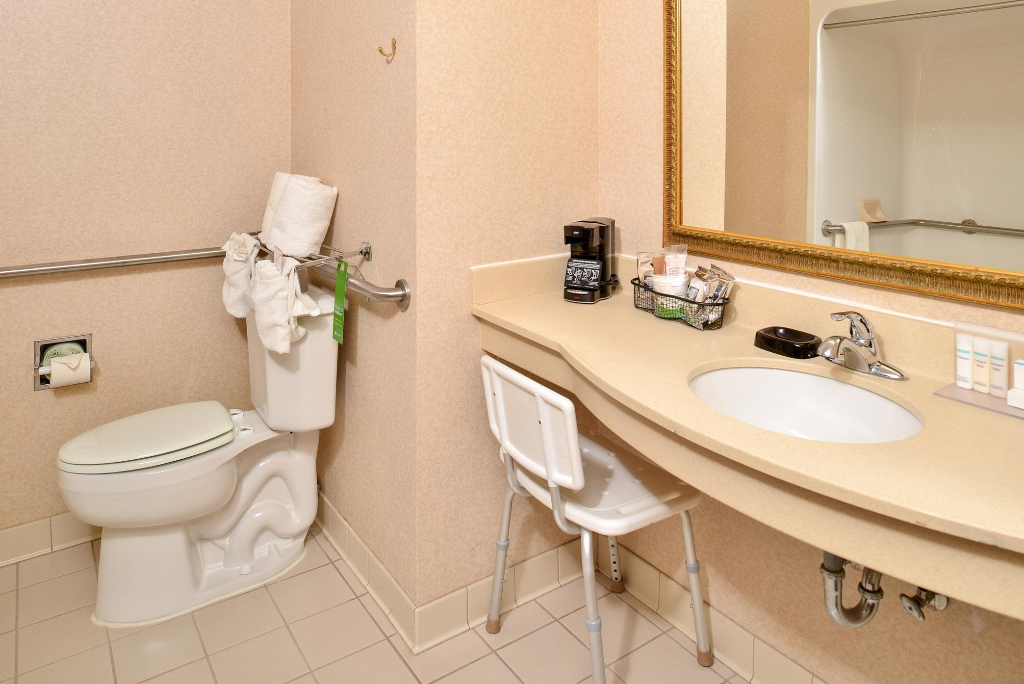 Accessible Guest Room Bathroom