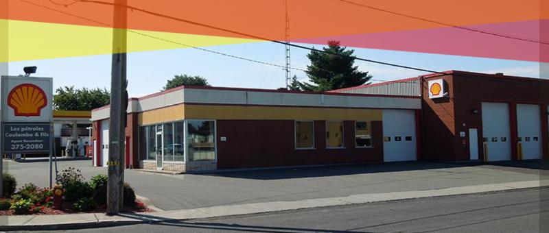 Les Pétroles Coulombe & Fils Inc à Granby