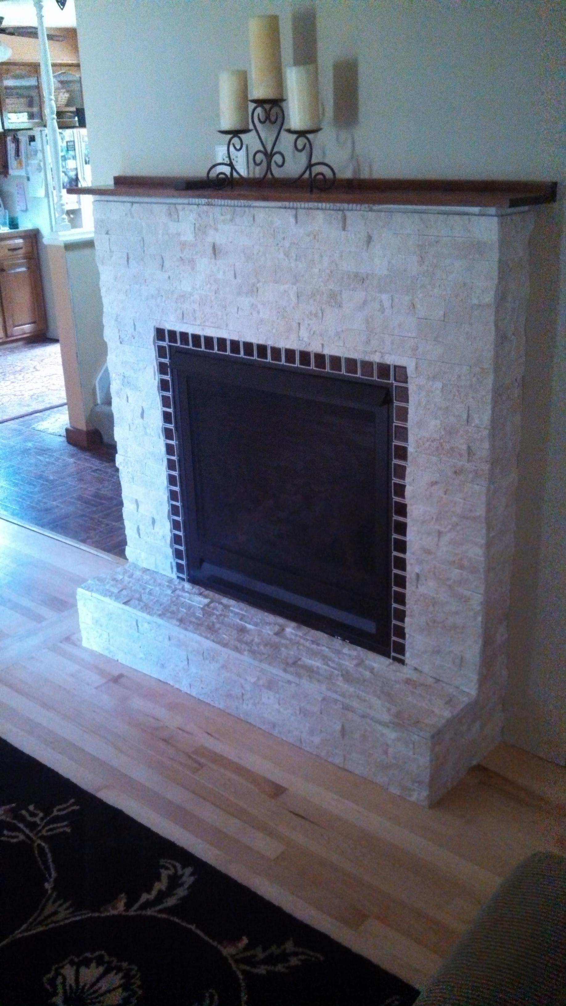 Does your fireplace look tired, old, or dated?  We can design a simple face lift to give that fireplace a glow to compliment the flame!