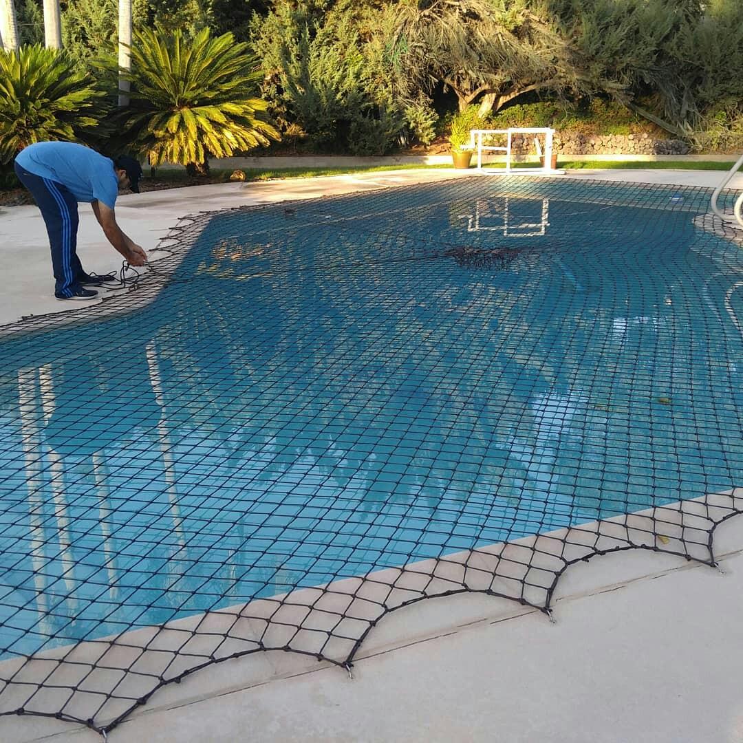 Nathans Pool Fence image 0