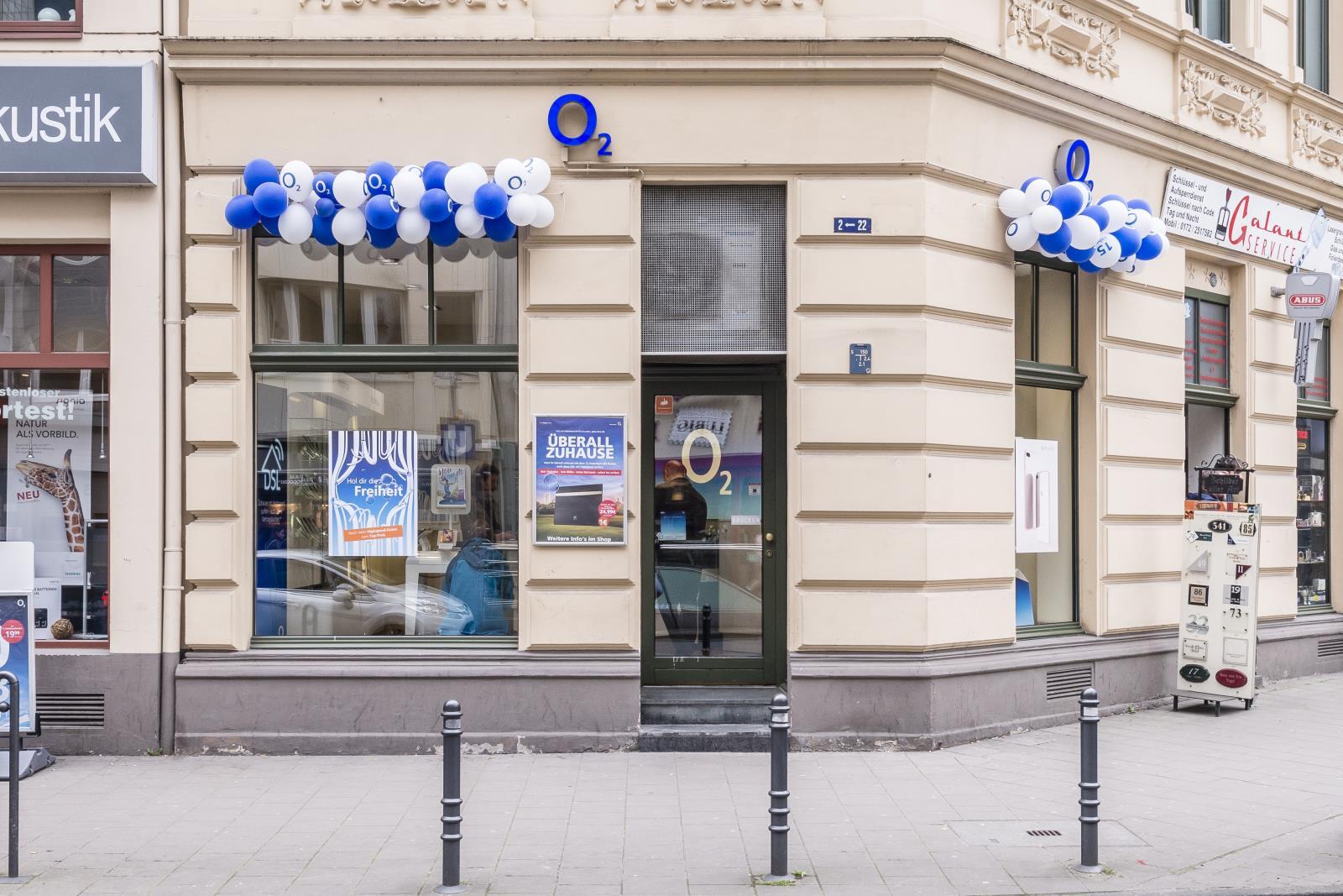 o2 Shop, Chlodwigplatz 1-3 in Köln