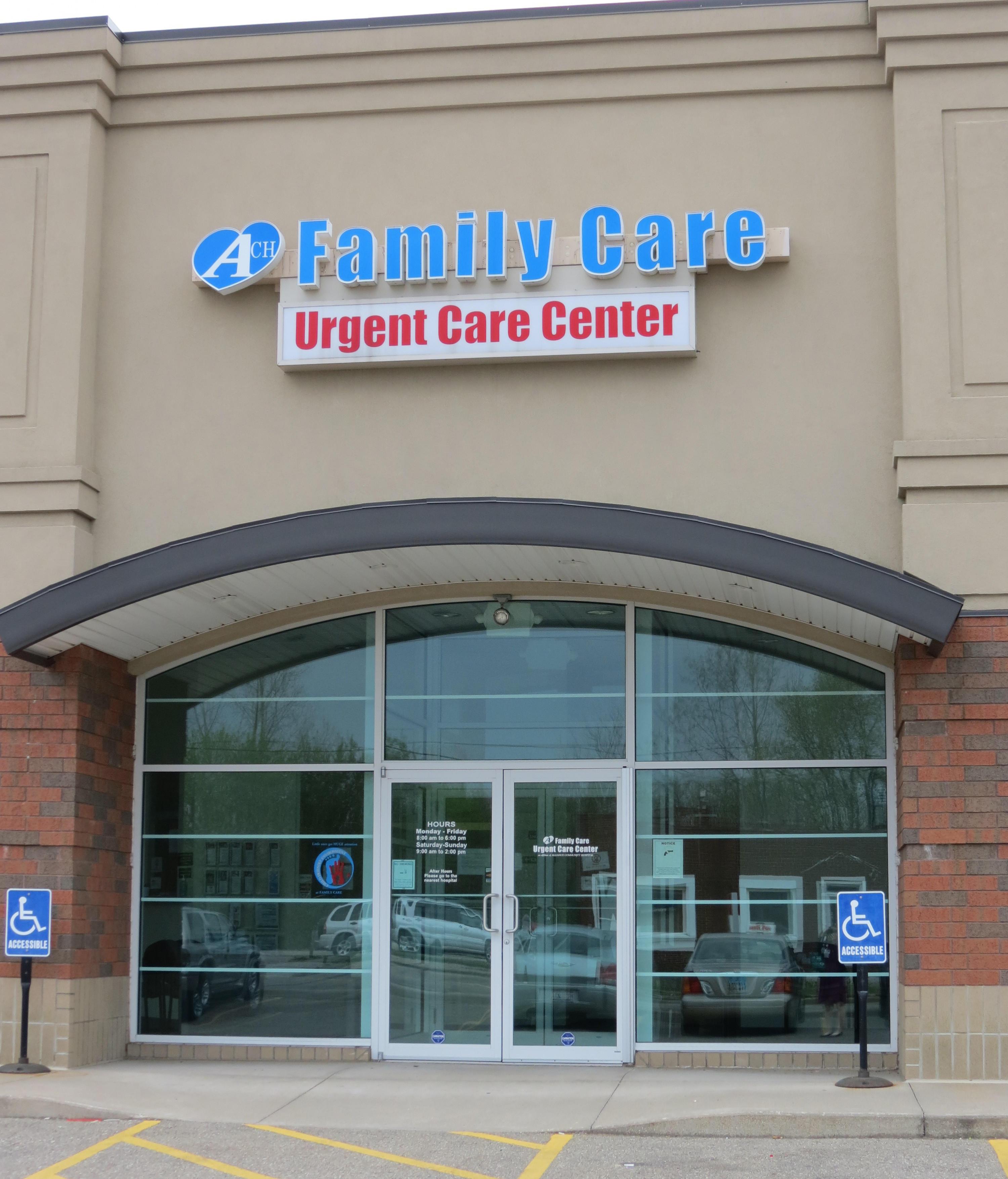 ACH Family Care Urgent Care Center image 0