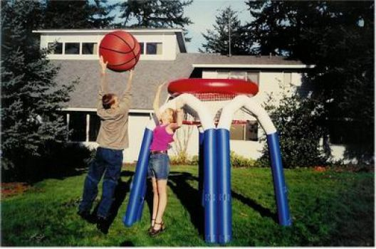 Who's Got GAME? Inflatable Basketball Anyone?