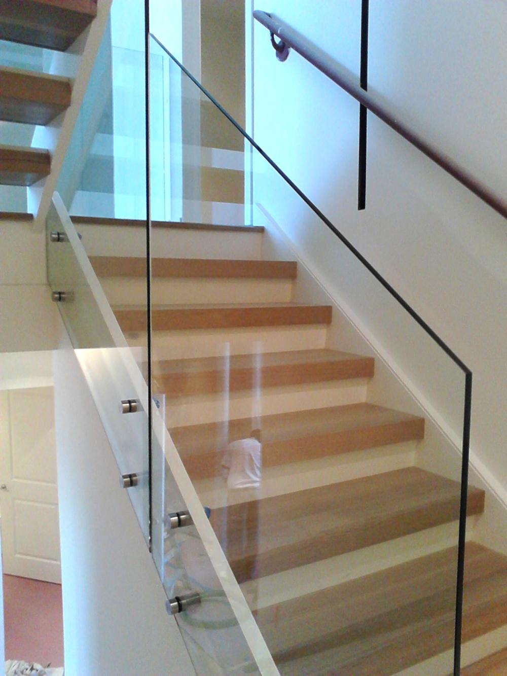 Glass Guardrail Systems : Virginia window repair in lorton va