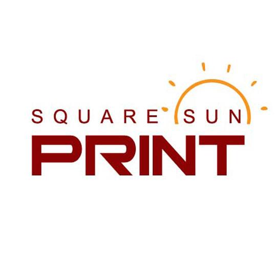 Square Sun Print