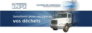 Conteneurs LPI Québec à Québec