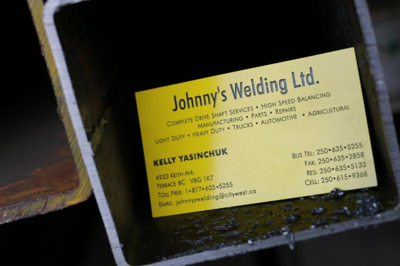 Johnny's Welding in Terrace