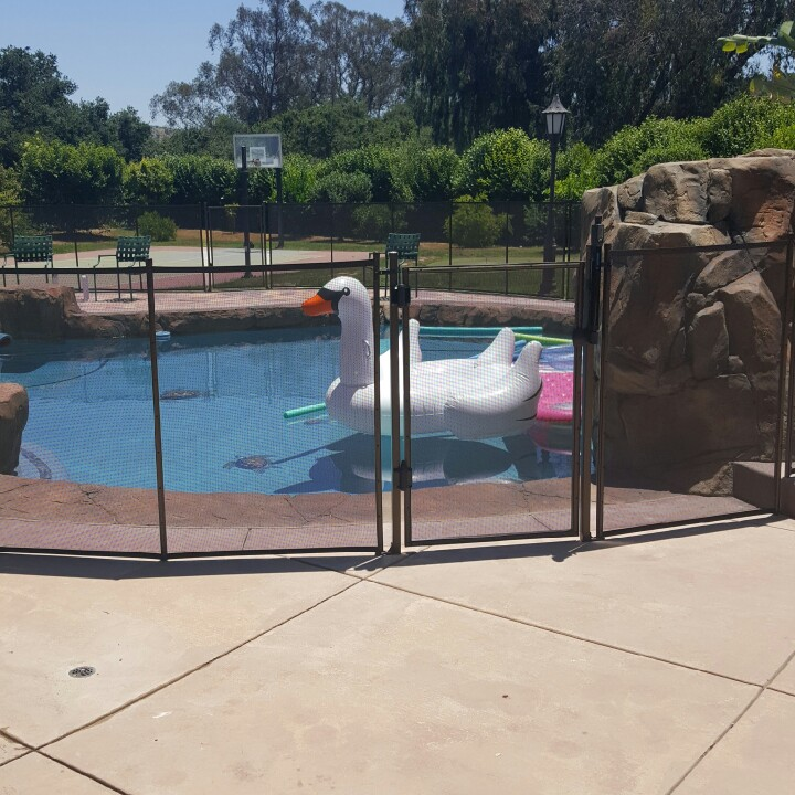 Nathans Pool Fence image 2