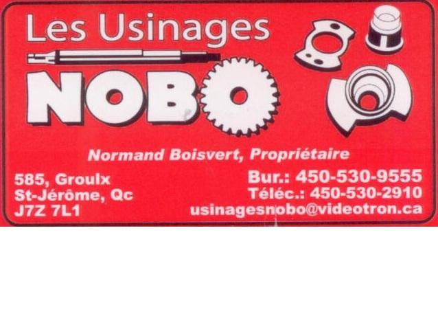Les Usinages Nobo Inc à Saint-Jérôme