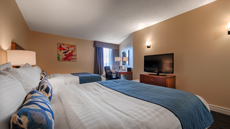 Best Western Plus Hotel Albert Rouyn-Noranda à Rouyn-Noranda: 2 Queen Beds