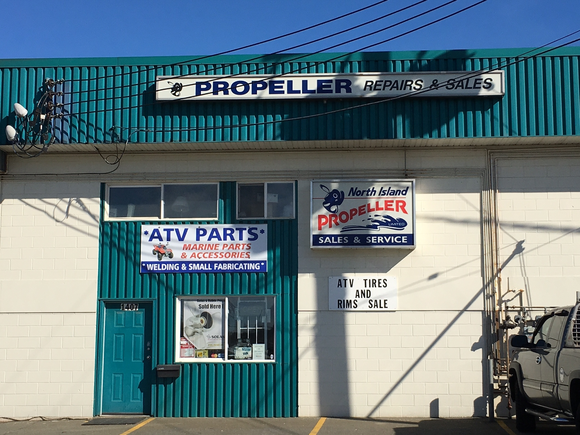 North Island Propeller Ltd in Campbell River