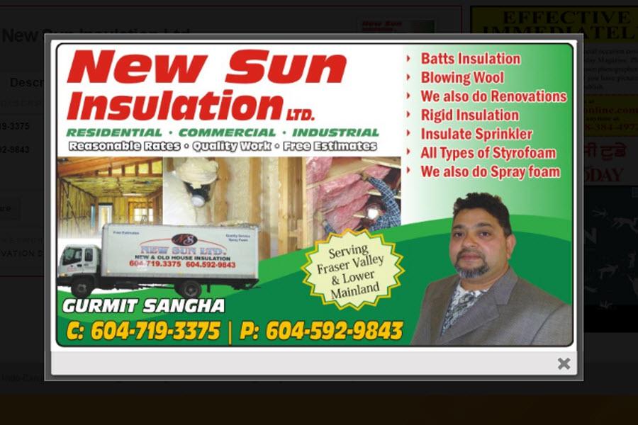 New Sun Insulation Ltd