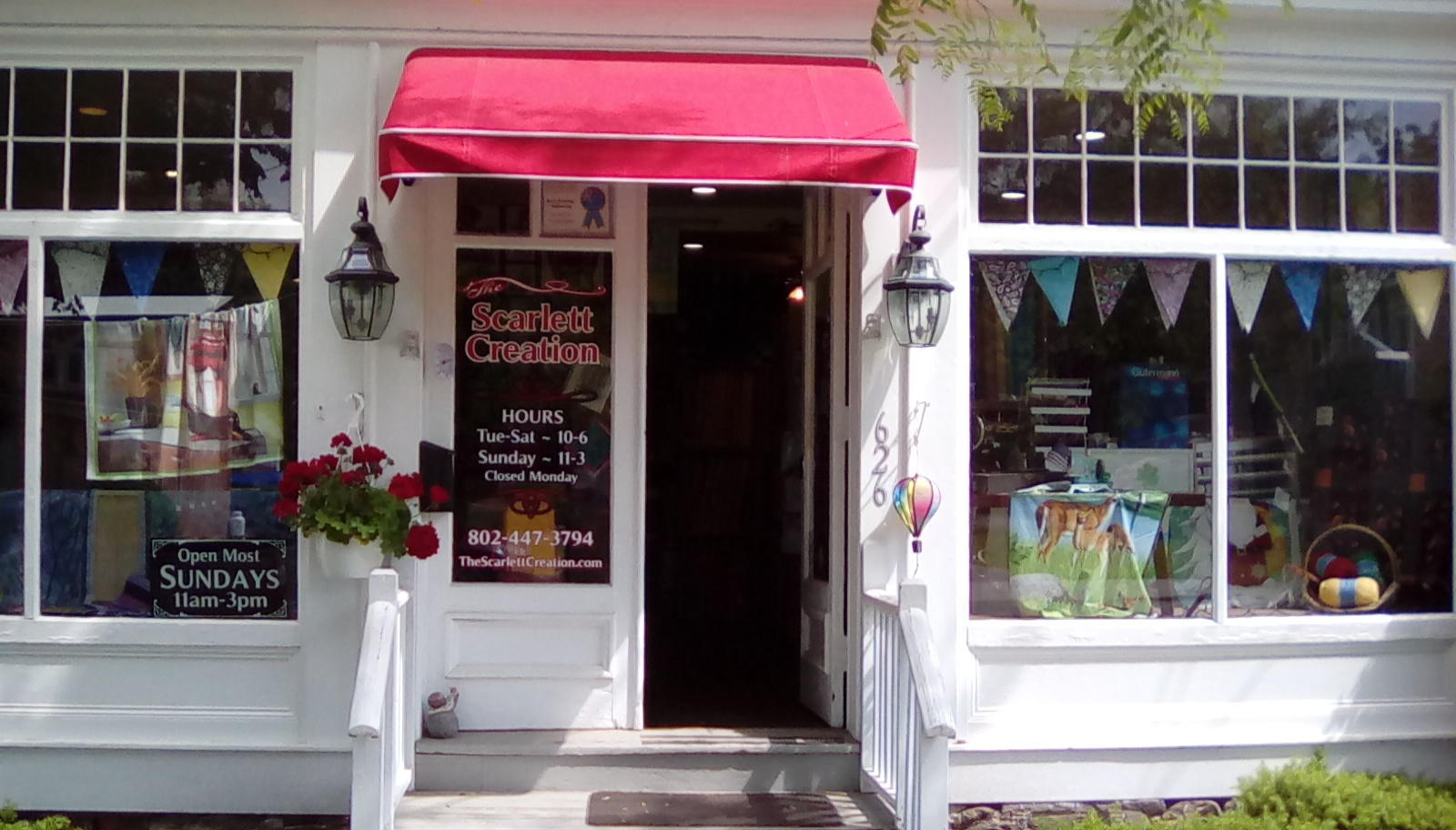 The Scarlett Creation Quilt Shop Bennington Vt 05201