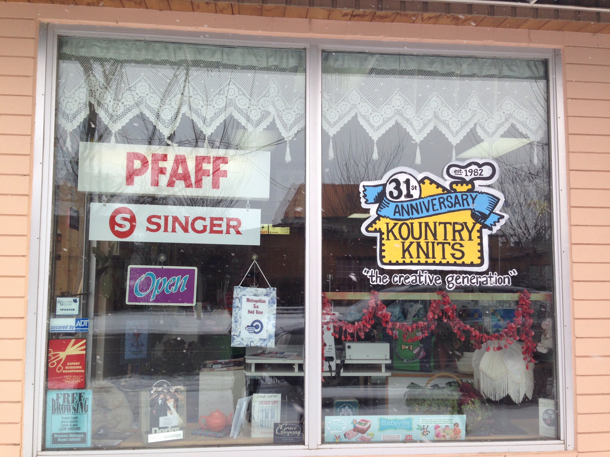 Kountry Knits & Sewing Center in Fort Saskatchewan