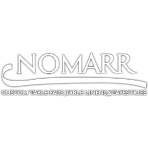 Nomarr Custom Table Pads, Table Linens, & Tapestries