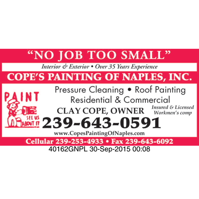 Cope's Painting of Naples, Inc.