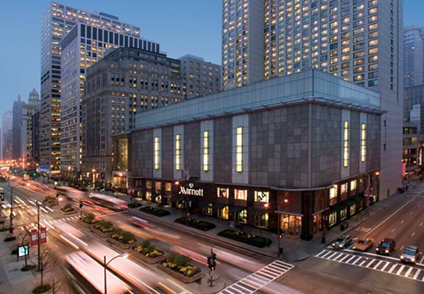 Resultado de imagem para Hotel Marriott Chicago Magnificent Miles