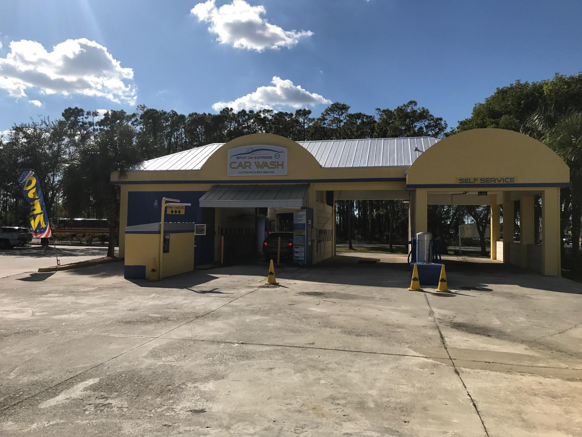 Spot on express car wash 15251 convenience way fort myers fl car spot on express car wash 15251 convenience way fort myers fl car washes mapquest solutioingenieria Gallery