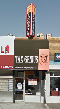 Tax Genius, Jamaica NY Office.