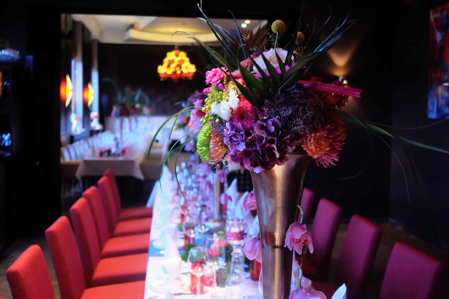 Hochzeitsdekoration im Kameha Suite