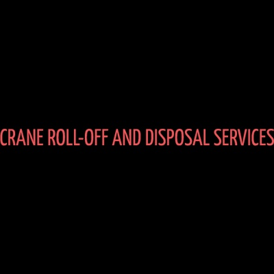 Crane Roll-Off and Disposal Services