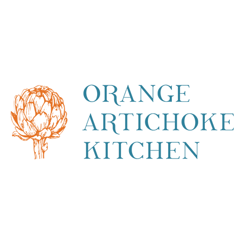 Orange Artichoke Kitchen image 3