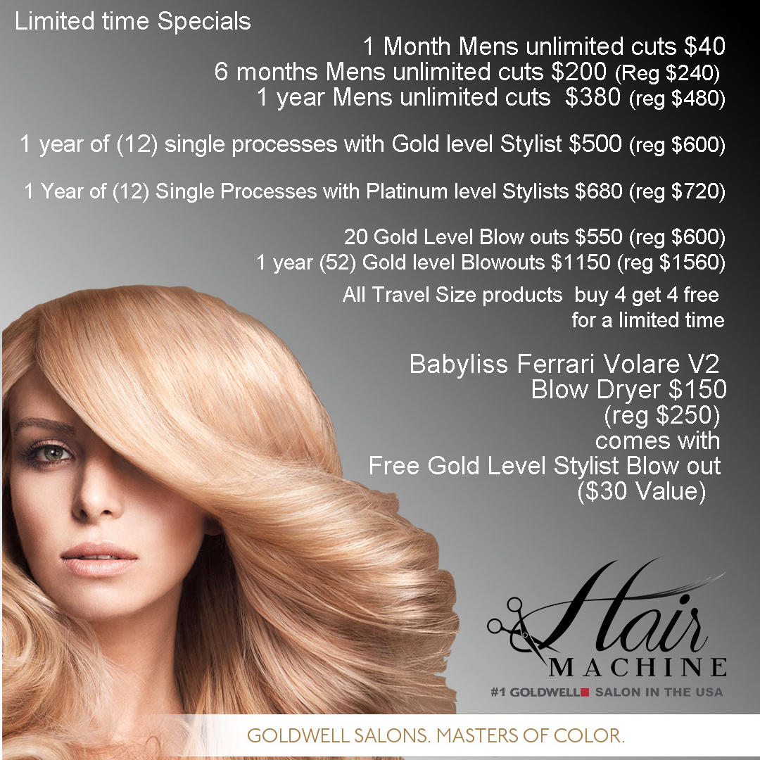 Expert Hair Color Precision Hair Cuts Hair Machine Salon