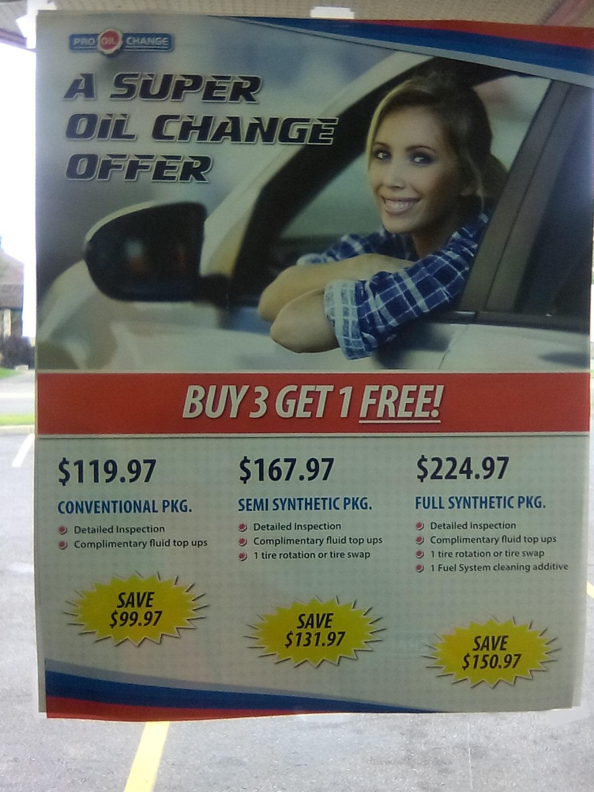 Jiffy Lube Hours Sunday >> Pro Oil Change, Sarnia ON   Ourbis