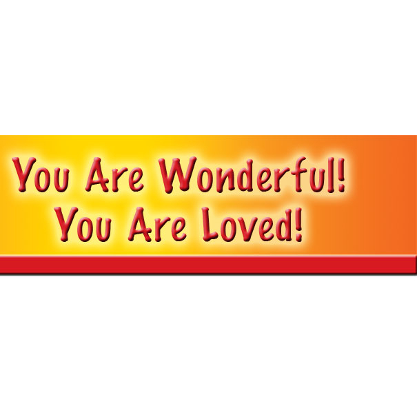 UR Wonderful UR Loved