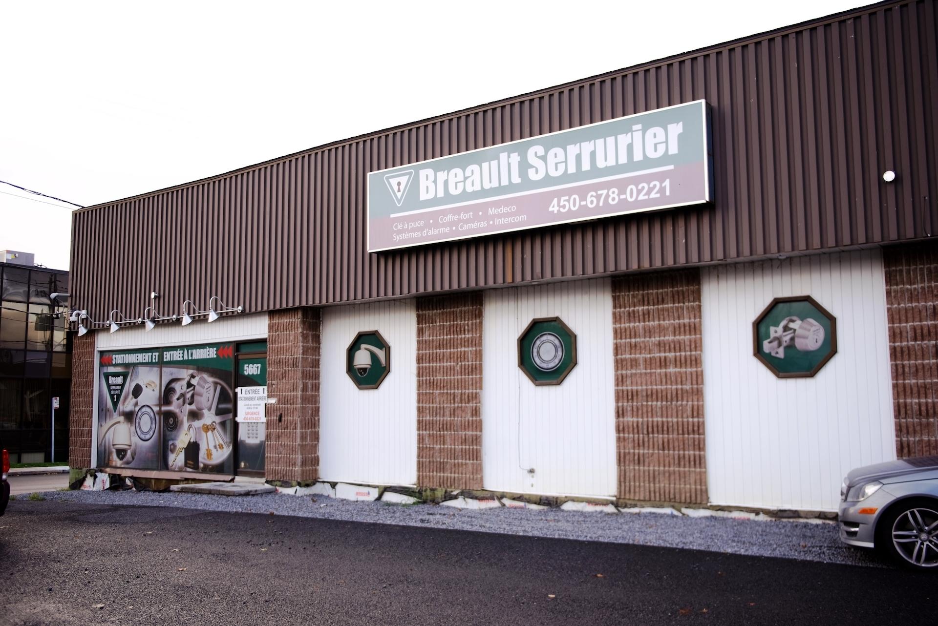 Breault Serrurier Sécurité in Saint-Hubert
