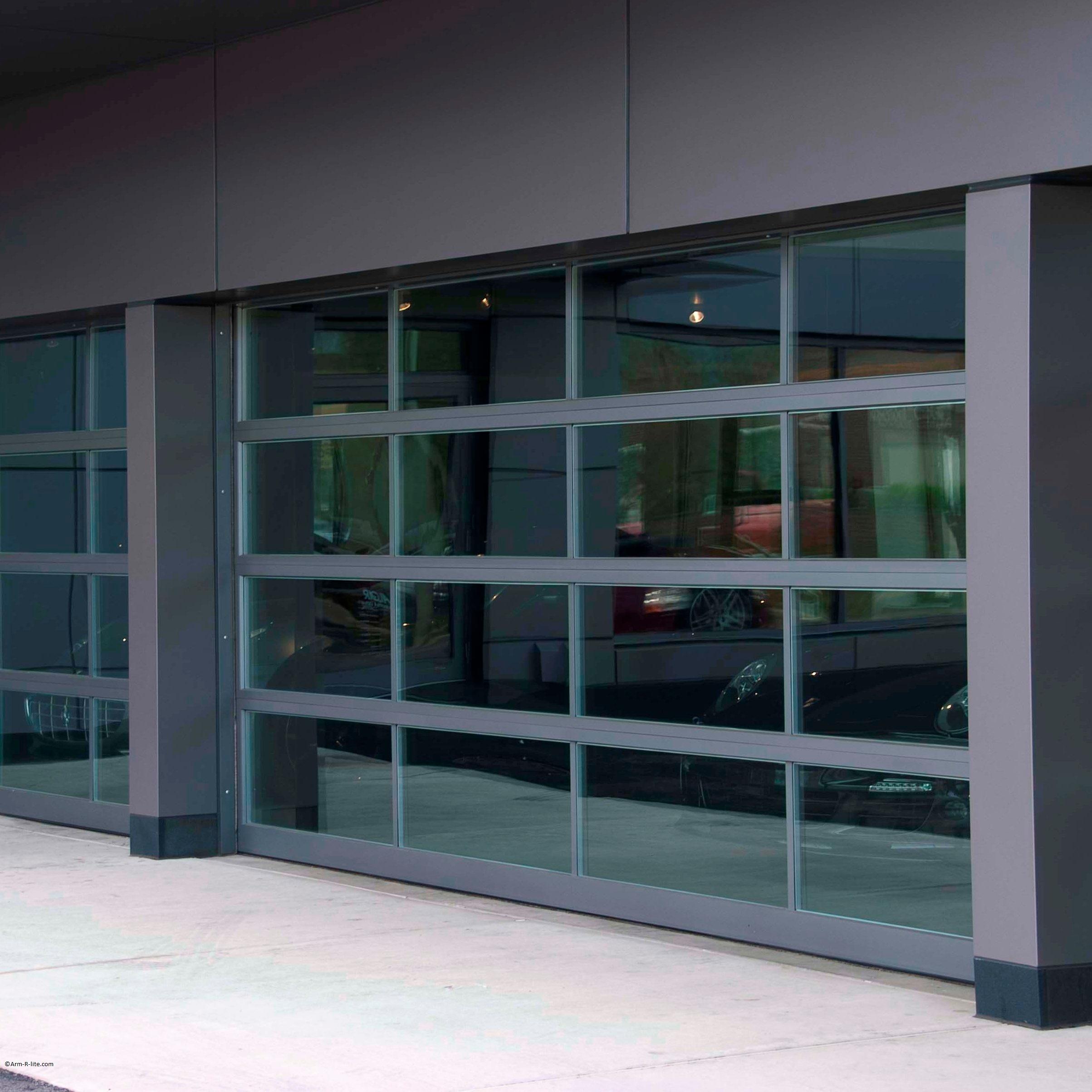 Ferrari glass garage doors by Arm-R-Lite