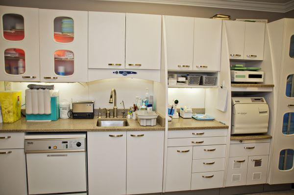 Ra Campbell Dentistry in Bowmanville: Our sterilization area.