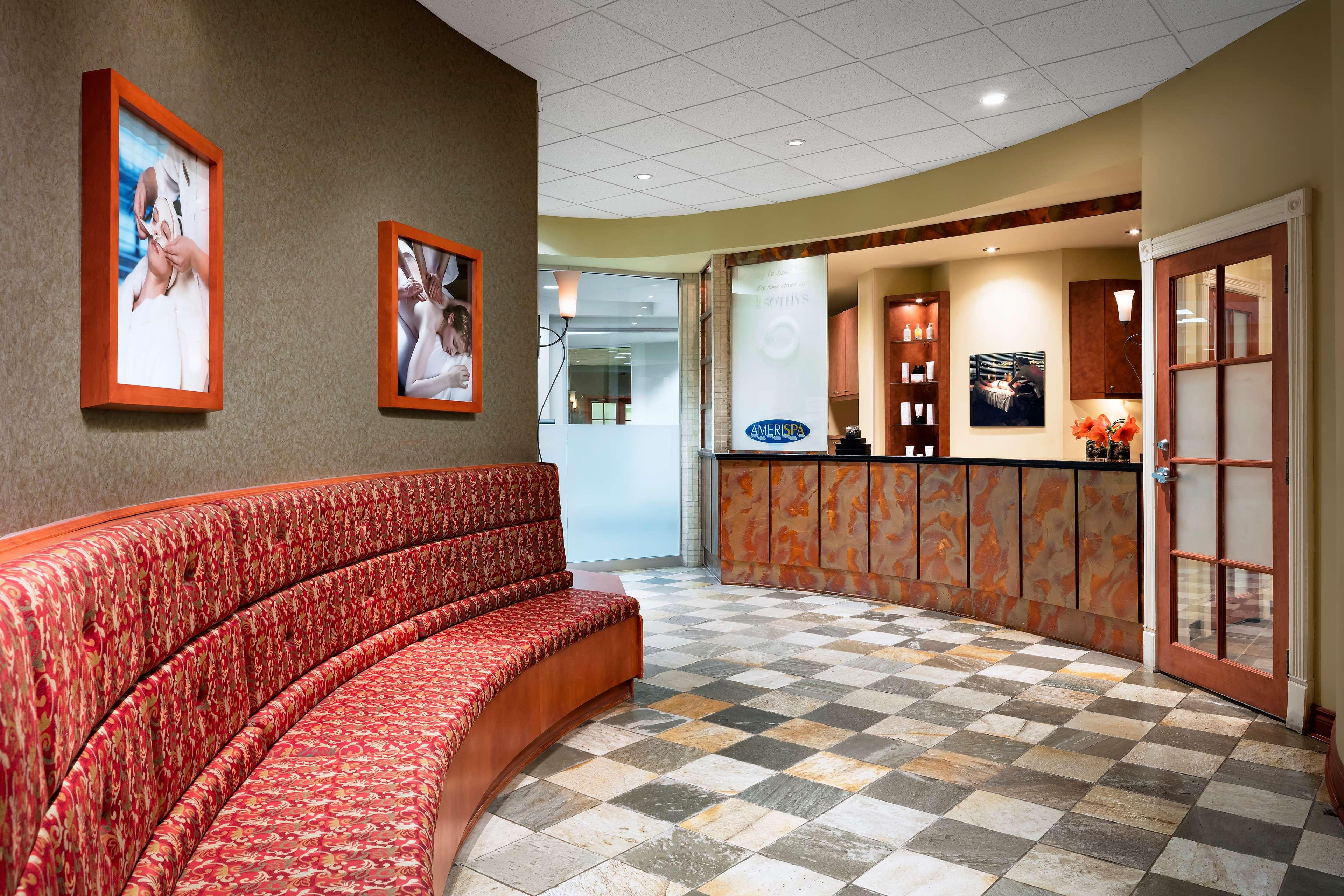 Le Westin Resort & Spa, Tremblant, Quebec à Mont Tremblant: Spa Lobby