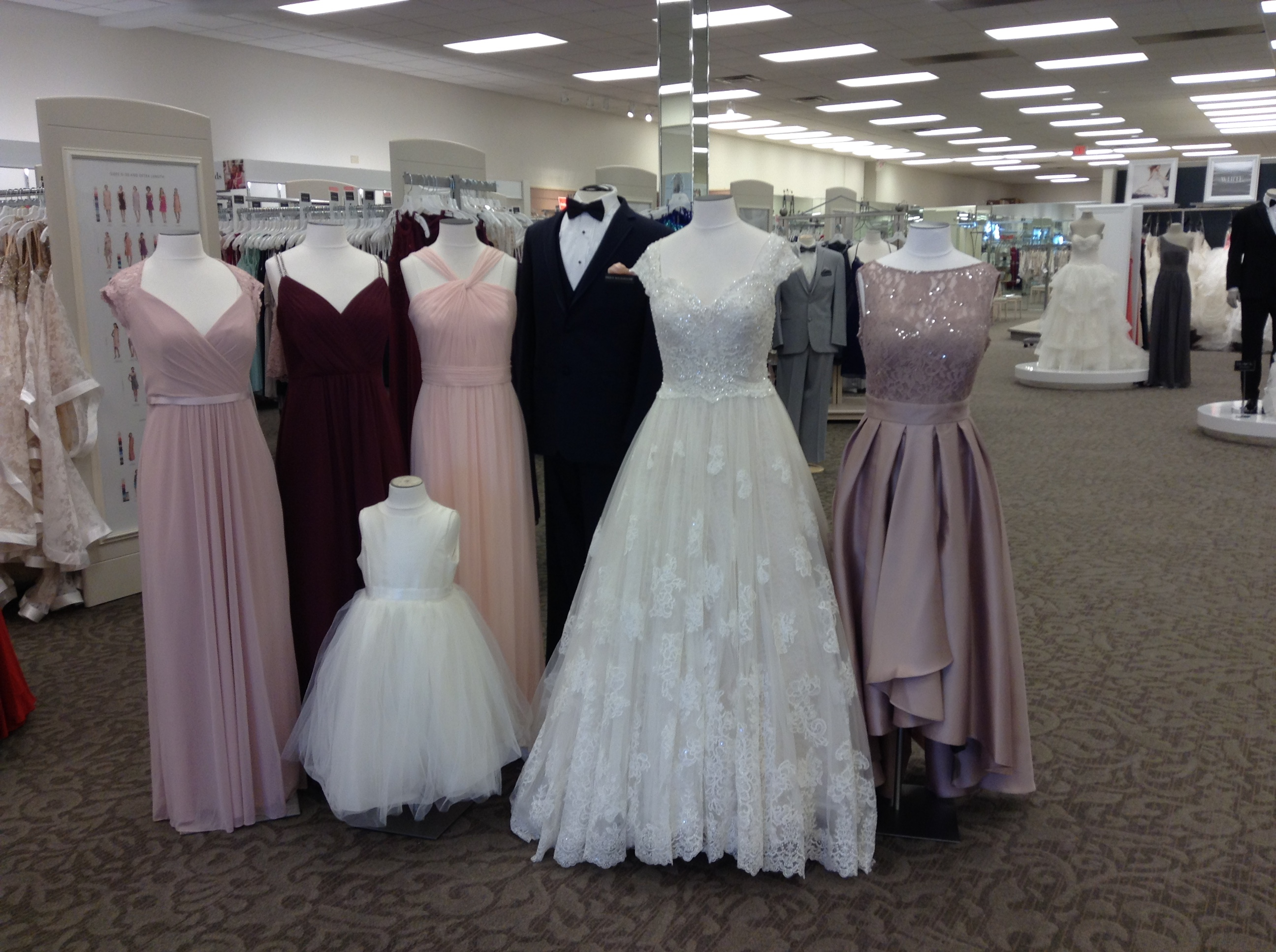 Davids Bridal 7900 Kingston Pike Knoxville TN