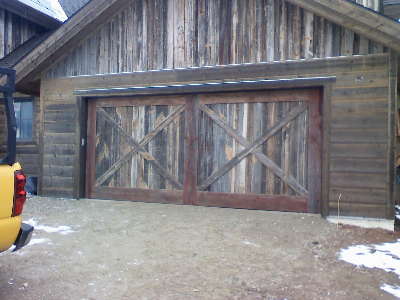 Garage door service sales garage builder loveland for Garage door service fort collins